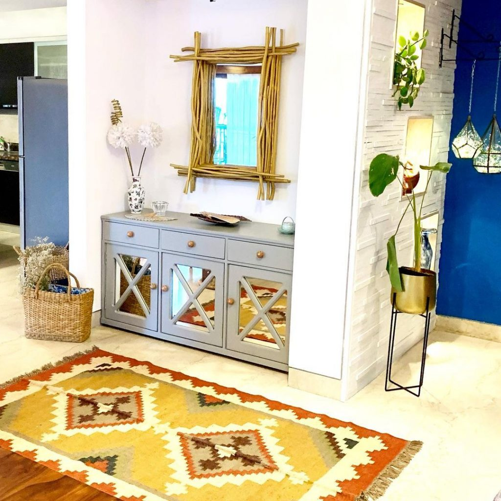 Use sideboards as multi functional space saving units