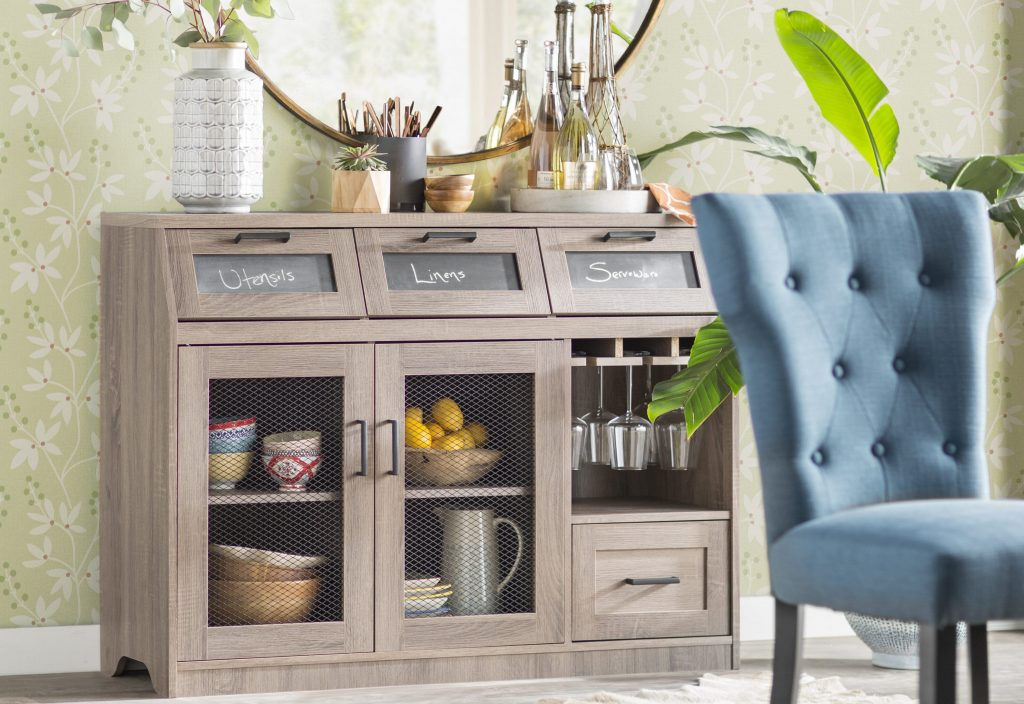What all things can you store in a sideboard or a buffet