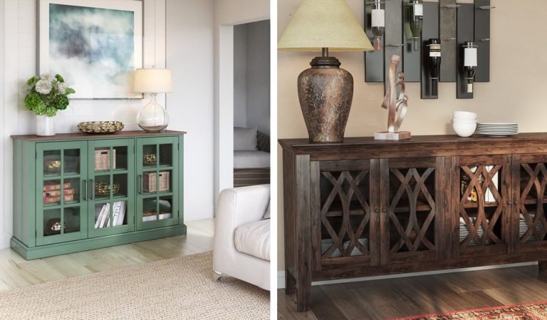 Difference between a Sideboard and a Buffet! What would be best for your home?